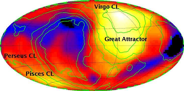 AGN volume density map
